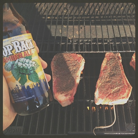 Grilling time.
